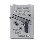 Zippo If you can't defend your rights