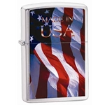 Zippo Flag-Made in the USA