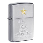 Zippo Don't Tread On Me Engraving - 49309